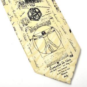 Leonardo Da Vinci Tie Thumbnail 1