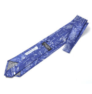 Captain / Sailor / Yachtsman Tie with Sailing Designs Thumbnail 3