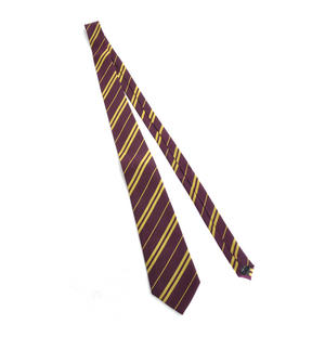 Harry Potter 100% Silk Gryffindor School Necktie in Madam Malkins Box Thumbnail 2