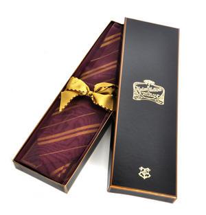 Harry Potter 100% Silk Gryffindor School Necktie in Madam Malkins Box Thumbnail 5