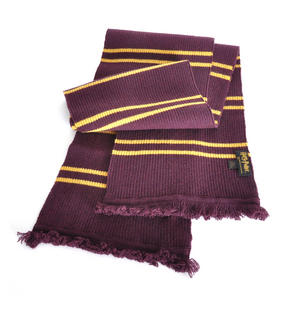 Harry Potter Replica Gryffindor Lambs Wool School Scarf in Madam Malkins Box Thumbnail 1