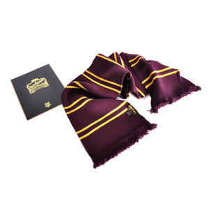 Harry Potter Replica Gryffindor Lambs Wool School Scarf in Madam Malkins Box Thumbnail 4