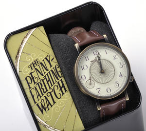 The Penny Farthing Watch - The Wristwatch For Cyclists