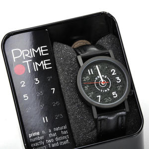 The Prime Numbers Watch - The Wristwatch For Mathematicians & Numerologists Thumbnail 1