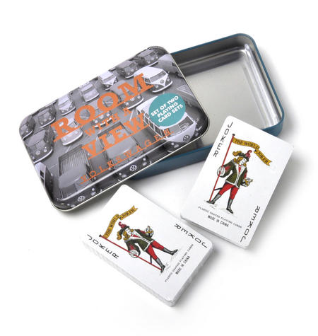 Volkswagen Room With a View - Set of 2 Playing Card Decks Tin Box Set