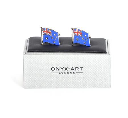 Cufflinks - Australia Flag - Australian Flying Flag