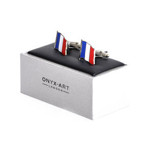 Cufflinks - France Flag - French Flying Flag Thumbnail 2