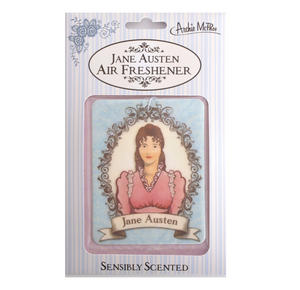 Jane Austen Air Freshener - Sensibly Scented Thumbnail 1