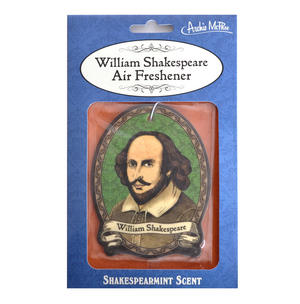 William Shakespeare Air Freshener - Shakespearmint Scent Thumbnail 1
