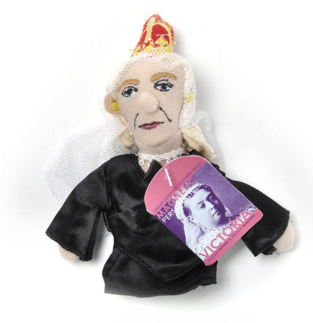 Queen Victoria Finger Puppet & Fridge Magnet