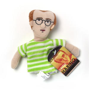 Keith Haring Finger Puppet & Fridge Magnet Thumbnail 1