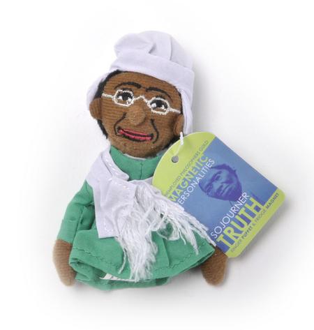 Sojourner Truth Finger Puppet & Fridge Magnet