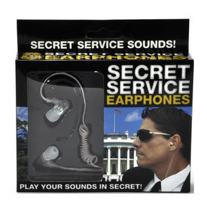 Secret Service Earphones Thumbnail 1
