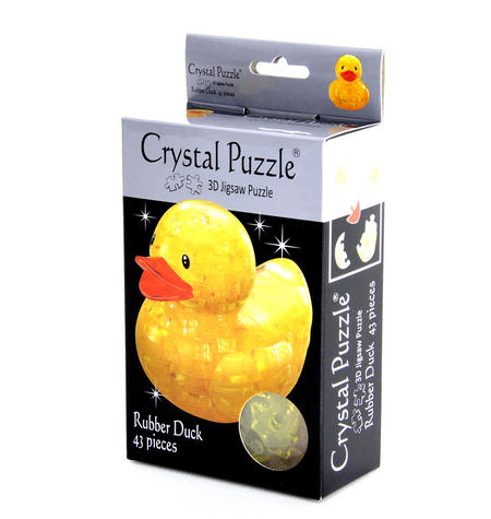3D Crystal Puzzle - Duck
