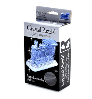 3D Crystal Puzzle - Steam Train Thumbnail 1