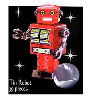 3D Crystal Puzzle - Robot Thumbnail 2