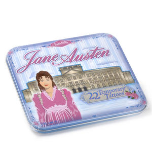 Jane Austen Temporary Tattoos - 22 Sense, Sensibility & Skin Art Thumbnail 1