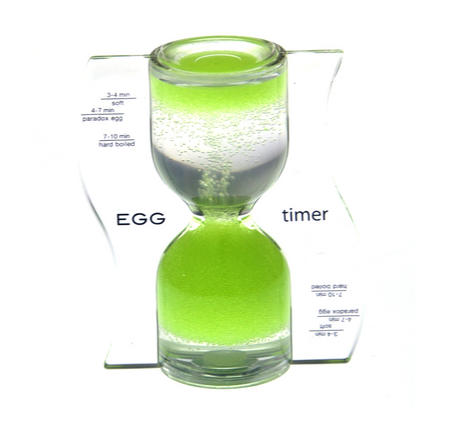 Paradox Green Egg Timer - Watch the Purple Bubbles Defy Gravity