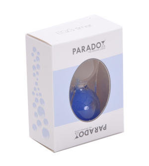 Paradox Blue Egg Timer - Watch the Purple Bubbles Defy Gravity Thumbnail 4