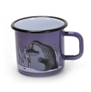 Moomin & Groke - Purple Moomin Muurla Enamel Mug - 3.7 cl Thumbnail 2