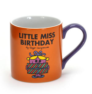 Little Miss Birthday - Mr Men And Little Miss Mug Thumbnail 1