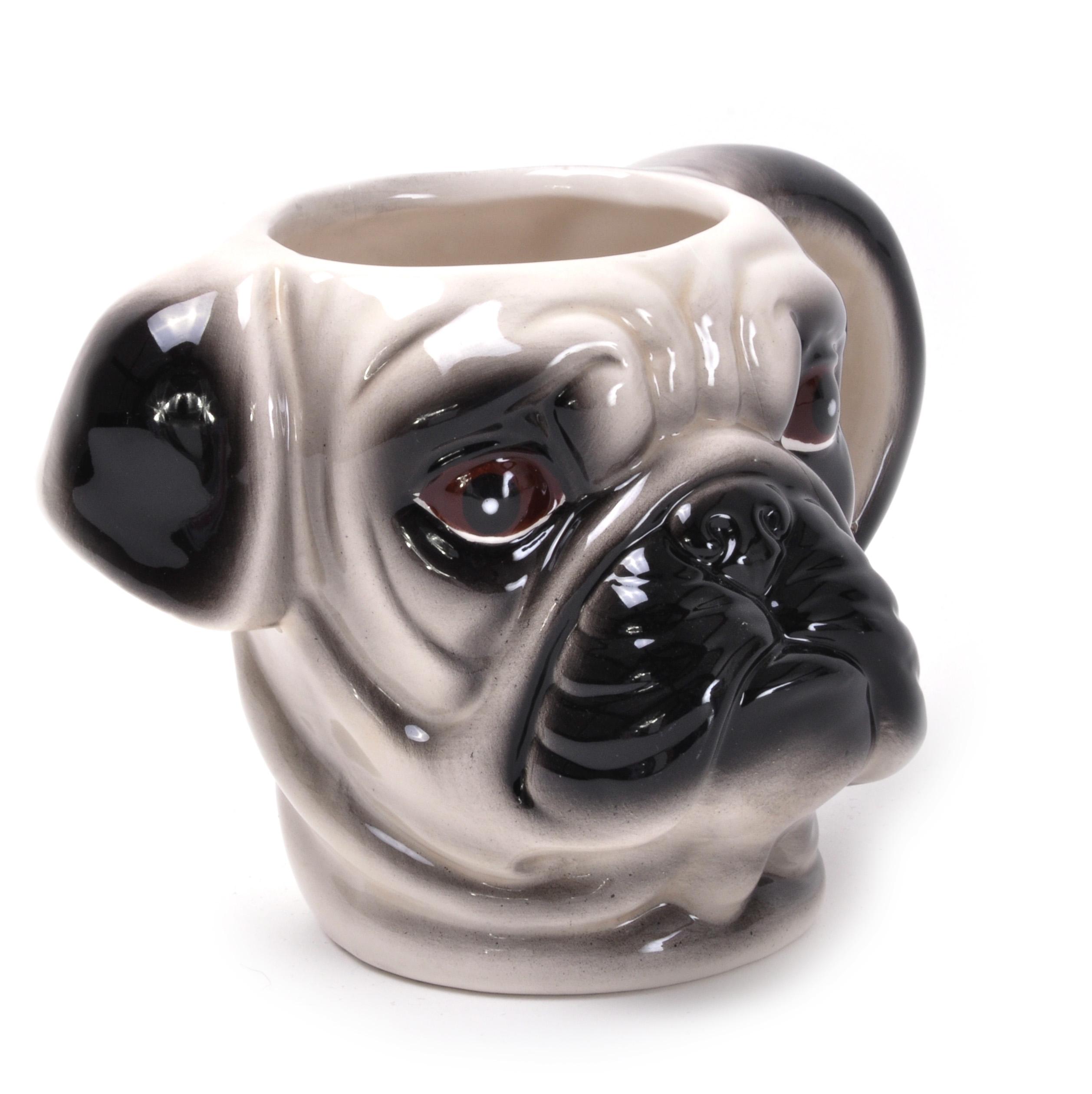 3d Pug Dog Face Mug Pink Cat Shop