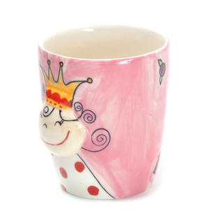 3D Princess Mug Thumbnail 2