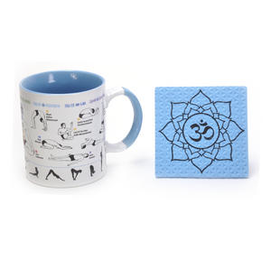 How to Yoga Mug with Om Coaster Thumbnail 1