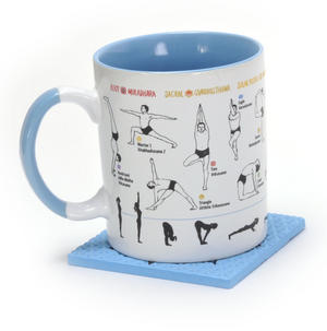 How to Yoga Mug with Om Coaster Thumbnail 4