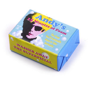 Andy Warhol Soap - Andy's 15 Minutes of Foam Thumbnail 2