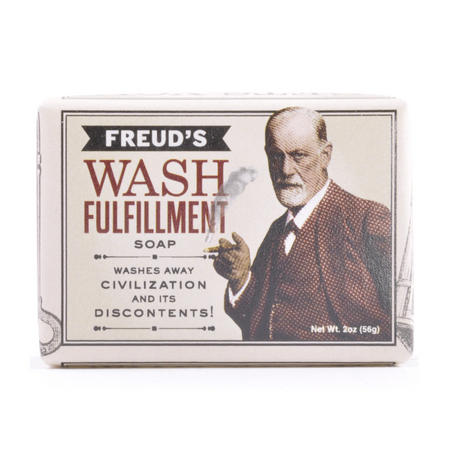 Sigmund Freud Soap - Freud's Wash Fulfilment