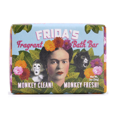 Frida Kahlo Soap - Frida's Fragrant Bath Bar