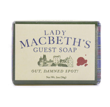 Lady Macbeth Soap - Lady Macbeth's Guest Soap - Out , Damned Spot