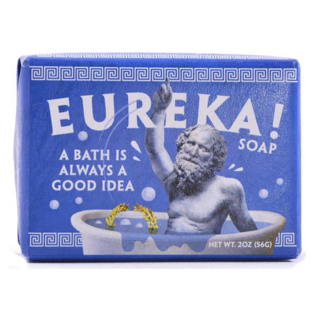 Eureka Soap - Archimedes' Ancient Greek Water Displacement Discovery Soap