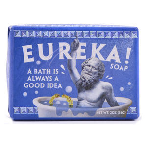 Eureka Soap - Archimedes' Ancient Greek Water Displacement Discovery Soap Thumbnail 1