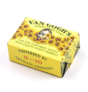 Van Gogh's Sunflower Soap - For Tortured Artists Thumbnail 2