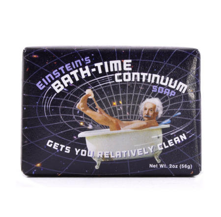 Einstein Soap - Einstein's Bath Time Continuum Soap
