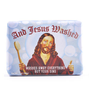 Jesus Soap - And Jesus Washed Soap Thumbnail 1