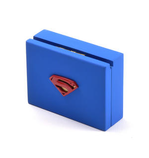 Gold Superman Logo Money Clip - Superman Returns in Wooden Box Thumbnail 5