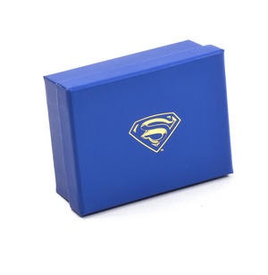 Gold Superman Logo Money Clip - Superman Returns in Wooden Box Thumbnail 6