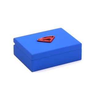 Gold Superman Logo Money Clip - Superman Returns in Wooden Box Thumbnail 7