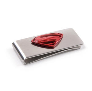 Red Superman Logo Money Clip - Boxed Superman Man of Steel Thumbnail 3