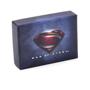 Red Superman Logo Money Clip - Boxed Superman Man of Steel Thumbnail 4