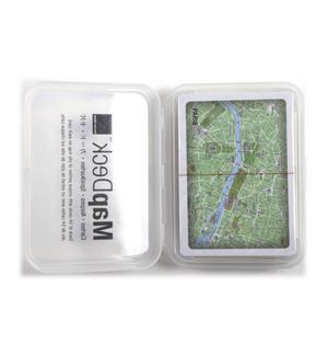 Paris Map - Map Deck Playing Card Set Thumbnail 2