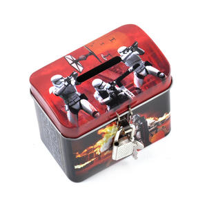 Star Wars Darth Vader & Stormtroopers Money Savings Tin with Lock and Key Thumbnail 5