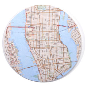 New York City Map - Map Coasters
