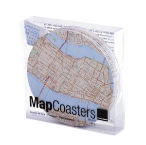 New York City Map - Map Coasters Thumbnail 3