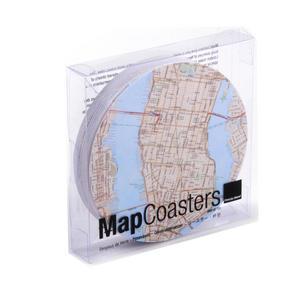 New York City Map - Map Coasters Thumbnail 4