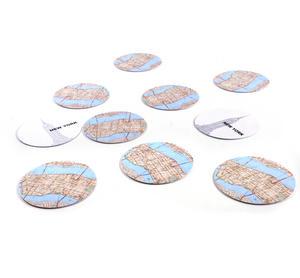 New York City Map - Map Coasters Thumbnail 5
