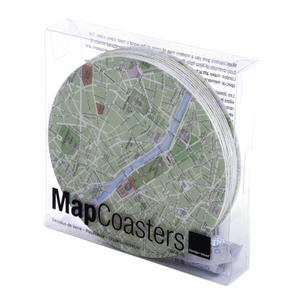 Paris Map - Map Coasters Thumbnail 3